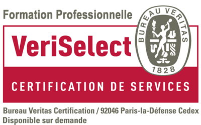 Certification VeriSelect Formation professionnelle obtenue !